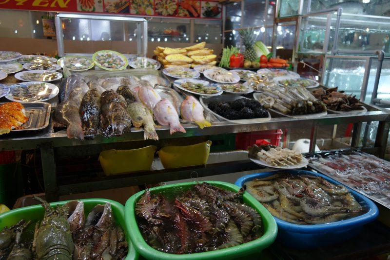 Phu Quoc är känt för just fisk och skaldjur.