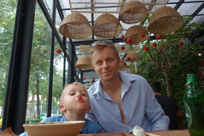 Restaurangbesök i Ho Chi Minh City