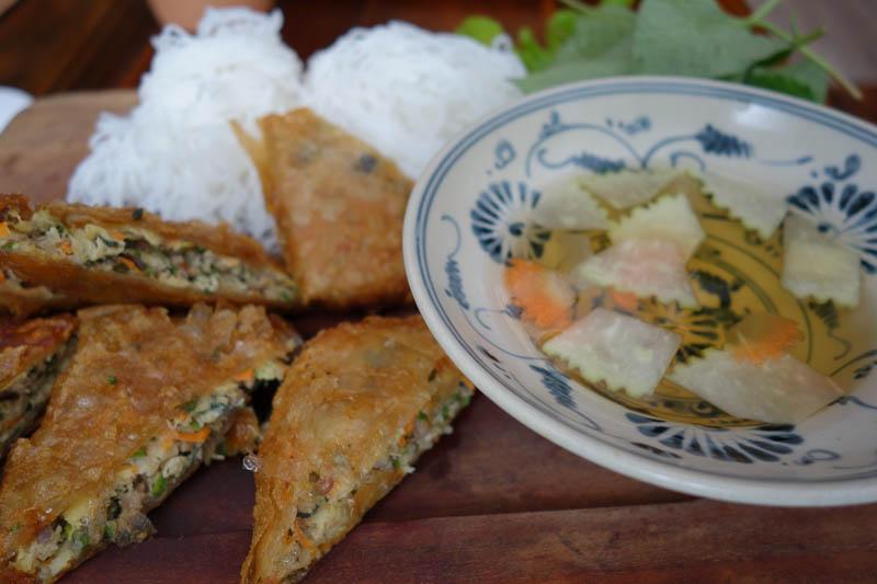 Galet god vietnamesisk mat. Tur att man inte alltid vet vad man stoppar i sig.