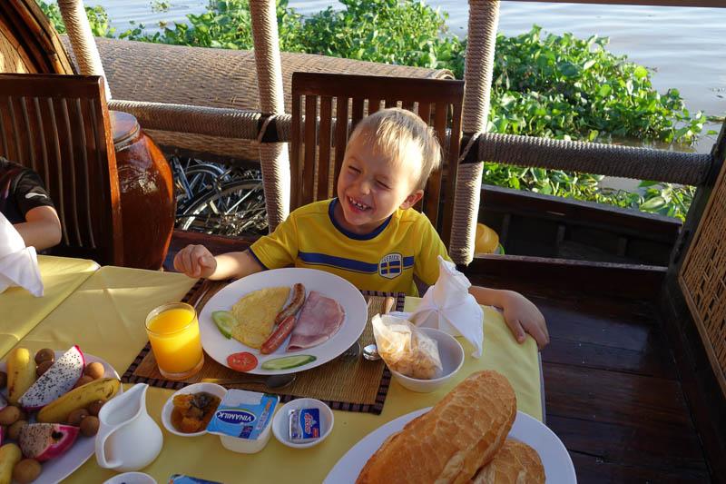 Frukostdags.