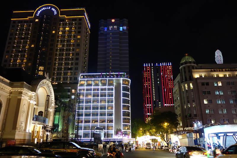 Ho Chi Minh by night