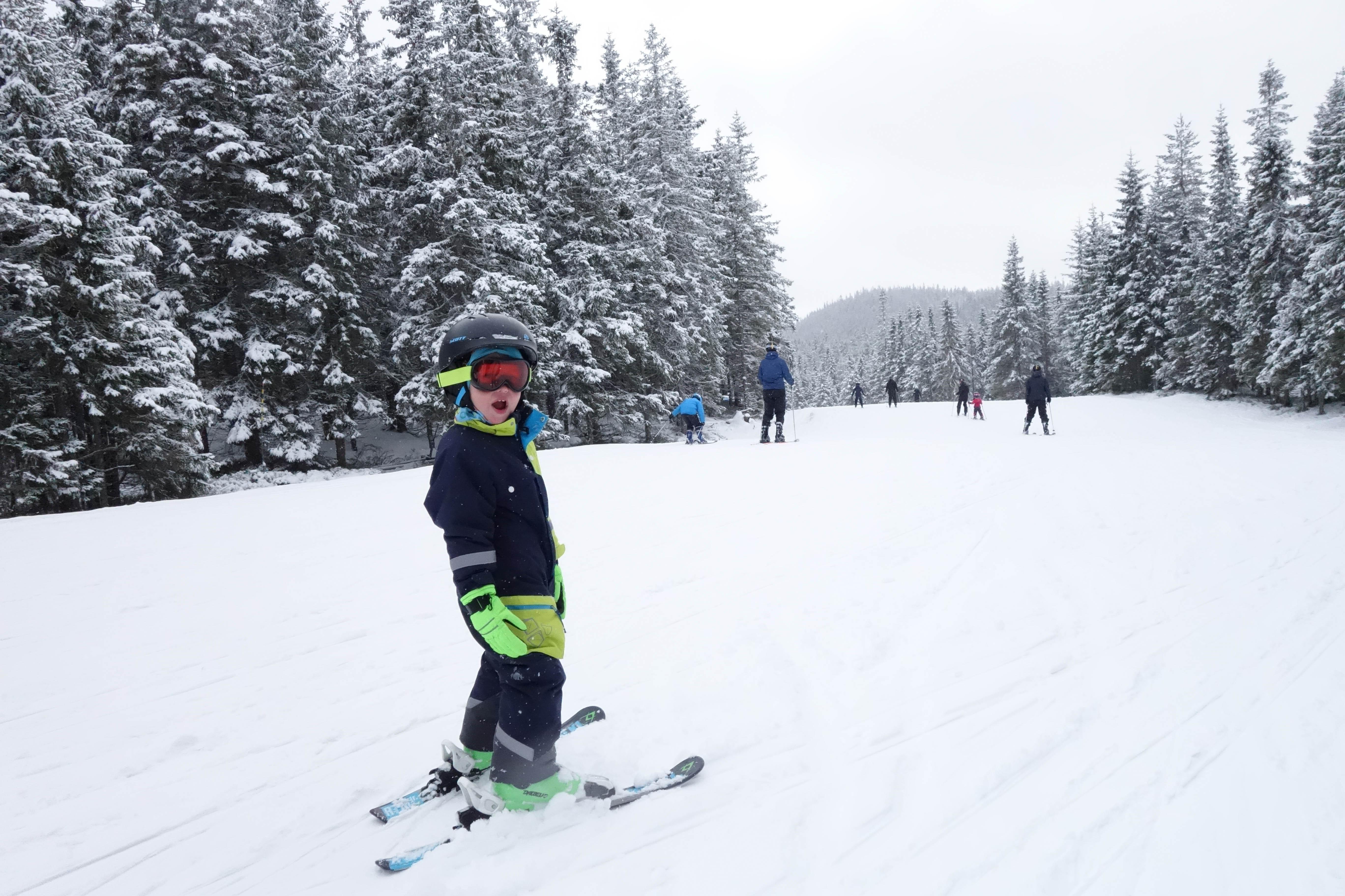 En underbar långweekend i Säfsen med mycket snö gav hela familjen energi i vintermörkret.