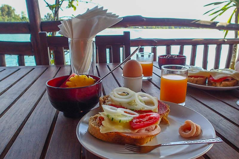 Lyxfrukost en fredag.