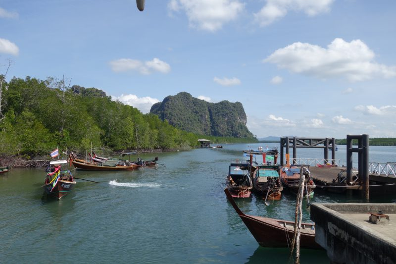 Hamnen Hat Yai utanför Trang lever upp till det sydthailändska kustlandskapet.