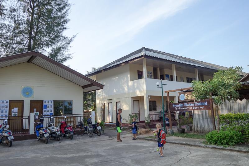 Sanuk är vår skola, här på Koh Lanta.