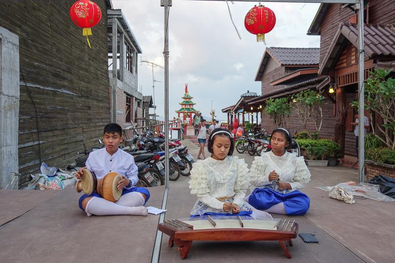 Laanta Lanta bjuder på mycket thailändsk kultur.
